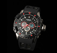 New fashion men's business double movement movement waterproof anti fall large dial watches LCD BWL598