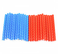 Bicycle Personas Reflective Spokes Stickers Red And Blue Mark 24PCS
