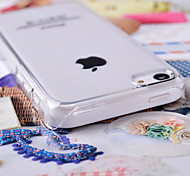 Transparent PC Back Cover Case for iPhone 5C