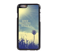 You Are Strong Than You Think Design Aluminum Hard Case for iPhone 6