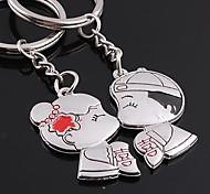 Unisex Alloy Wedding/Casual Keychain Valentine's Day Key Chains 1 Pair