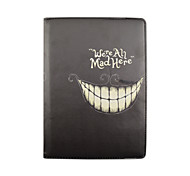 9.7 Inch 360 Degree Rotation Smile Pattern with Stand Case and Pen for iPad Air 2/iPad 6