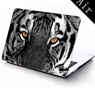 The Eye of Tiger Design Full-Body Protective Plastic Case for 11-inch/13-inch New MacBook Air