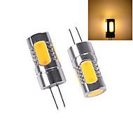 Bombillas LED de Mazorca ding yao T G4 8W 5 COB 120 LM Blanco Cálido / Blanco Fresco DC 12 V 1 pieza