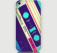 Magnetic Tape Pattern Back Case for iPhone 6