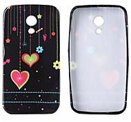 Pendant Love Glitter Pattern TPU Soft Case for Motorola G2