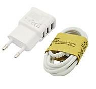 2a eu drei USB-Handy-Ladegerät + samsung s4 Datenleitungen für Samsung-