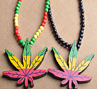 Fashion Street Dance Club For  Wooden Necklace (Multi-Colored)  (random color)