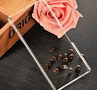 pomelo® negro caso de luz transparente para sony xperia m4 aqua