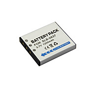 1200mAh SLB-0837 Camera Battery Pack for  Samsung i5  i6  i50  i70  L50  L60  L73  L80  L150  L700  NV3  NV5  NV7