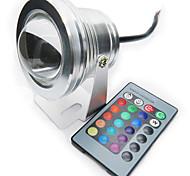 10w rgb full colour IP68 waterdichte begrijpen led lamp spotlight zwembad licht (12v)