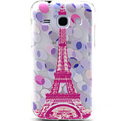 Samsung Core Plus G3500 Compaticle Multicolor Balloons And Pink Tower Pattern TPU Soft Back Cover Case