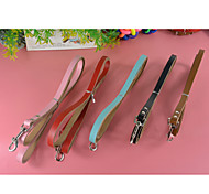 CowHide Leather Leashes Lead for Dogs and Pets (assorted colors,size)