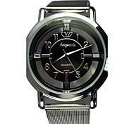 Men's Dress Watch Net Band Quartz Analog(Assorted Colors) Cool Watch Unique Watch