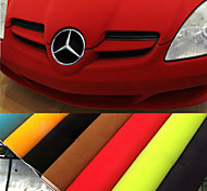 135*30CM 8 Colors Velvet Fabric Velvet Film Suede Film Car Sticker  Car Interior Sticker Car Body Decoration Sticker