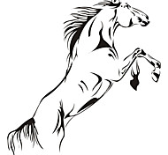 Wall Stickers Wall Decals,  Horse  PVC Wall Stickers