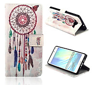 Wind Bell Pattern PU Leather Full Body Case with Card Slots And Stand Case for  Samsung Galaxy A5