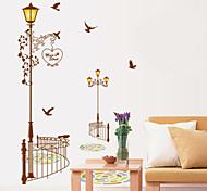 Modern Street Lamp PVC Wall Stickers Wall Art Decals