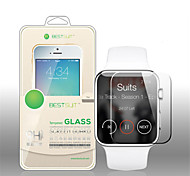2 PCS 42MM HD Screen Protector with Anti-Bubble & Anti-Fingerprint for Apple Watch (0.3 mm)