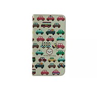 Car Collection Pattern Wallet Card PU Leather Full Body Case for Microsoft Lumia 640 XL