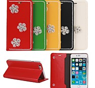 DoubleShow  compatible Solid Color Full Body Cases Genuine Leather Case for iPhone 6(Assorted Color)