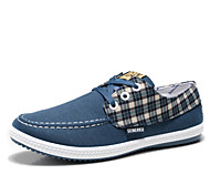 Men's Shoes Outdoor/Casual Canvas Fashion Sneakers Blue/Gray/Khaki