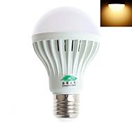 Zweihnder E27 7W 600LM 5500-6000K/3000-3500K 12x5730 SMD LEDs White Light Warm White Globe Bulb(AC 85-265V)