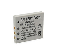 1250mAh FNP-40/K7005/DLI8/SLB-0737 Camera Battery Pack for FUJIFLIM F350/F402/ F455 Kodak C763 Panasonic MC-FX2