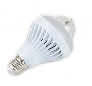 Zweihnder E27 7W 600LM 5500-6000K 17xLEDs RGB Light Bulb Light (new products,AC 85-265V,1Pcs)