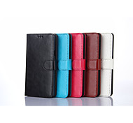 Special Design Solid Color PU Leather for Samsung Galaxy A7 (Assorted Colors)