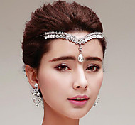 Rhinestones Wedding/Party Headpieces/Forehead Jewelry