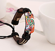 Leather Bracelet Leather Bracelets Party/Daily/Casual 1pc