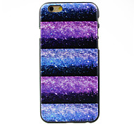 Colorful Sky Stars Night Pattern Hard Case for iPhone 6