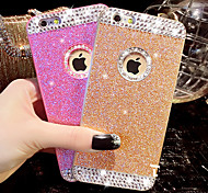 Diamond Bling Glitter Cover Case with Back Hole for iPhone 6(Assorted Colors)