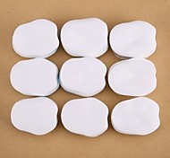 500PCS New Nail Polish Remover Cotton Pads Nail Art Clean Cotton Nail Tips Remover Manicure Tools