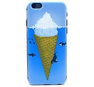 Ocean Iceberg Pattern Plastic Hard Back Cover for iPhone 6