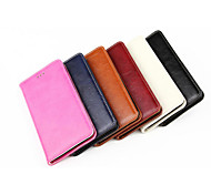 PU Leather Oil and Wax Stents Can Insert Card Design for iPhone 6 (Assorted Colors)