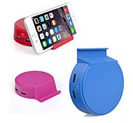 ich-s04 bunt 4-Port USB Tischladestation 5V multifunktionale Ladenetzteil mit Ständer für iPhone / Samsung
