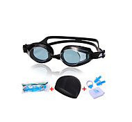 WEST BIKING® Unisex Waterproof Anti-fog Shatterproof Adjustable with Cap PC Swimming Goggles