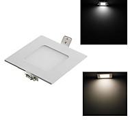 3W 15x2835 SMD 240ml Warm White Cold White LED Panel Light-Square(AC85-265V)