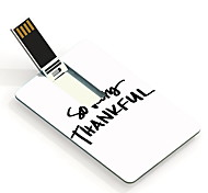 16GB So Very Thankful Design Card USB Flash Drive