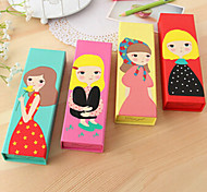 Sweet Dreaming Girl Paper Pen Holders & Cases