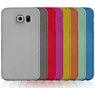 ультратонкий 0,3 мм С. Материал задней стороны обложки для Samsung Galaxy S6