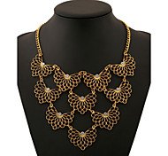 Alloy Gold Plated Butterfly With Set Auger Fashion Necklac