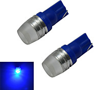 1.5W T10 Lichtdekoration 1 High Power LED 90lm lm Blau DC 12 V 2 Stück