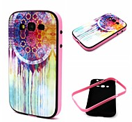 2-in-1 Oil Painting Dreamcatcher Pattern TPU Back Cover with PC Bumper Shockproof Soft Case for Samsung Core Prime G360