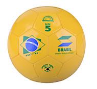 "Winmax® Outdoor PVC Yellow ""Brazil"" Pattern 5# Training Football\Soccer"