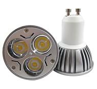 Faretti 3 LED ad alta intesità Bestlighting PAR GU10 3 W 250-300 LM K Bianco caldo/Luce fredda 1 pezzo AC 85-265 V