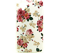 Rose Pattern TPU Soft Case for WIKO GOA
