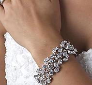 Damen Bettelarmbänder Strass Aleación Schmuck Für Hochzeit Party Alltag Normal 1 Stück